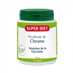Super Diet Picolinate Chrome 150 gélules