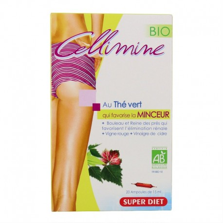 Super Diet Cellimine Bio 20 ampoules