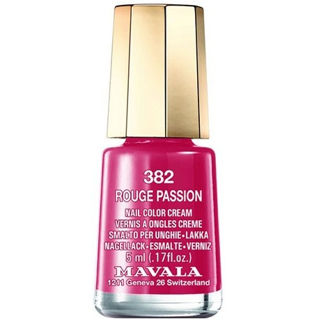 Mavala mini vernis à ongles rouge passion 382 5ml