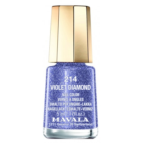 Mavala mini vernis à ongles 214 violet diamond 5ml