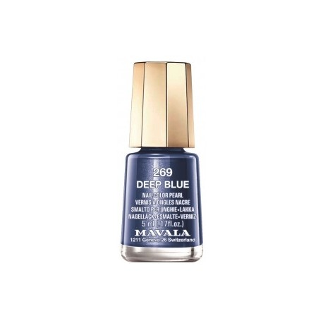 Mavala mini vernis 269 deep blue 5ml