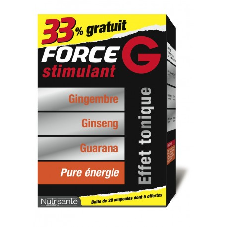 Nutrisante Lot Force G Stimulant 20 + 5 ampoules