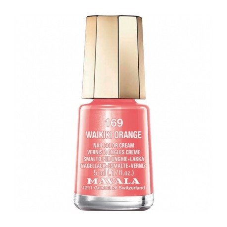 Mavala Vernis à Ongle Mini 169 Waikiki Orange 5ml