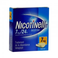 Nicotinell TTS 7mg/24H dispositif transdermique 7 patchs