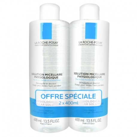 La Roche-Posay Solution Micellaire 2 x 400 ml