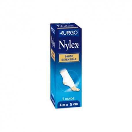 Nylex bande extensible blanche 5 cm x 4 m