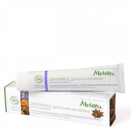 Melvita Dentifrice Gencives sensibles 75 ml