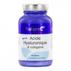 Naure Attitude Acide Hyaluronique et Collagène 60 gélules