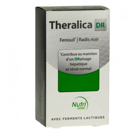 Theralica DR Draineur 30 sticks et 15 gélules