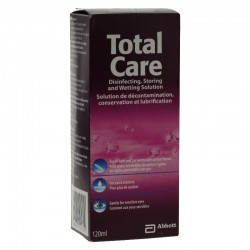 Amo France TotalCare Solution de Décontamination Lentilles 120 ml