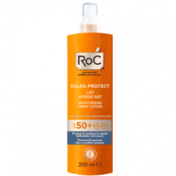 Roc lait hydratant en spray spf 50+ 200ml