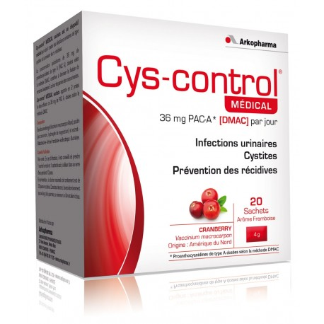 CYS CONTROL MEDICAL SACH /20