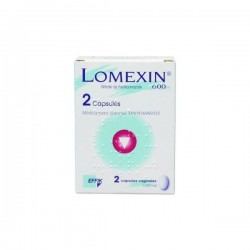 Lomexin 600mg 2 Capsules Molles Vaginales