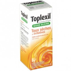 Toplexil Sans Sucre 0,33 mg /ml solution buvable FL/15