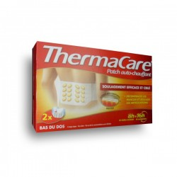 Thermacare patchs pour le dos x2