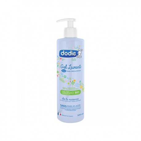 Dodie gel lanvant 3en1 500ml