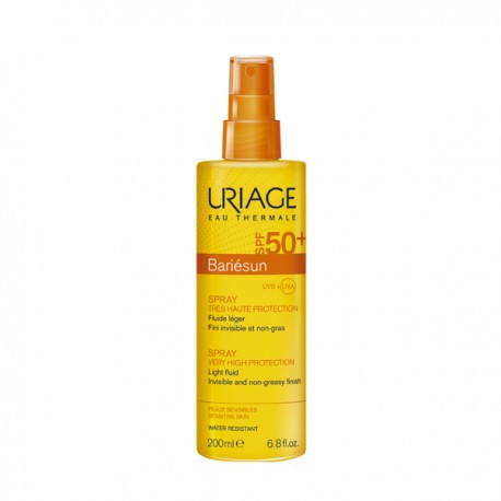 Uriage bariésun spray spf 50+ avec parfum 200ml