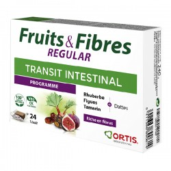 Ortis fruits et fibres regular 45 cubes