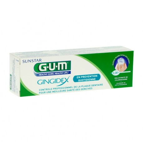 Gum gingidex dentifrice 75ml