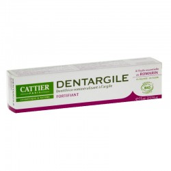 Cattier dentargile romarin 75ml