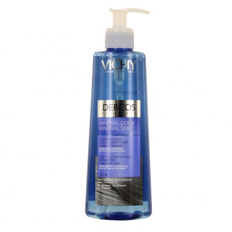 Vichy dercos shampooing minéral doux fortifiant 400ml