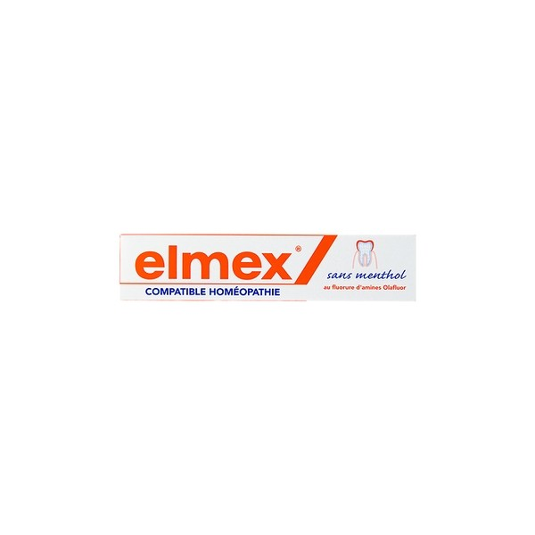 elmex dentifrice compatible hom opathie 75ml. Black Bedroom Furniture Sets. Home Design Ideas