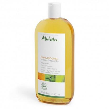 Melvita shampooing lavages fréquents 500ml