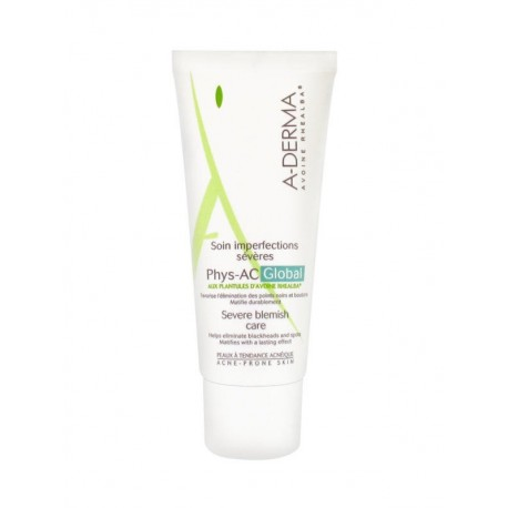Aderma Phys-AC global soin imperfections sévères 40ml