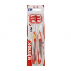 Elmex brosse à dents interx medium duo